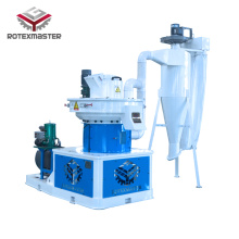 Main shaft reinforcement Pellet Machine