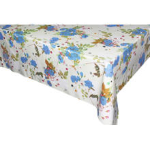 Vintage  Elegant Tablecloth with Non woven backing