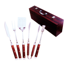 China for BBQ Chimney 5pcs high quality BBQ tool set export to South Korea Manufacturer