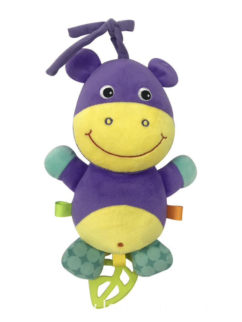 Musical Hippo Baby Toy