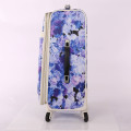 beachside tirp bags flower pattern travel suitcase