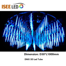 OEM for Best Dmx 3D Led Tube Light,3D Led Tube,Led Meteor Lights,3D Deco Light Manufacturer in China DMX Led Meteor Tube RGB Club Lights supply to Germany Exporter