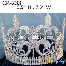 Full Round Pageant Crowns CR-233