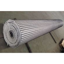 PP Biaxial Geogrid Composite With Nonwoven Geotextile