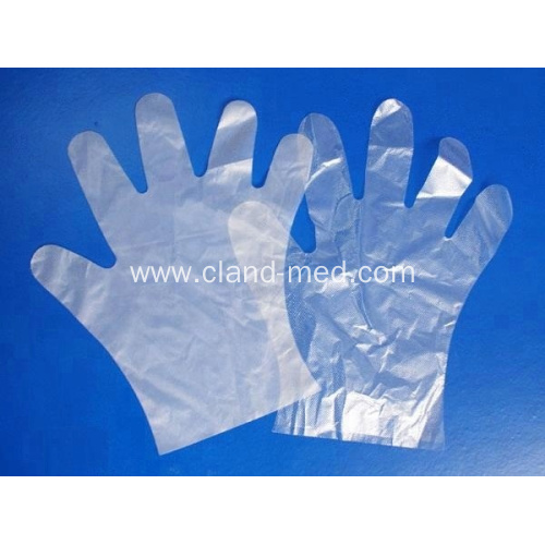 Disposable Safety Medical PE Gloves Plastic Hand Gloves