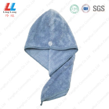 Microfiber hair quickly dry towel
