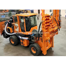 Factory directly sale for Rough Road Used Pile Driver Mobile Road Guardrail Drilling Machine export to Guatemala Exporter