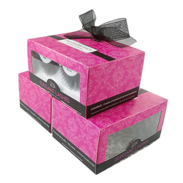 Charming OEM False Eyelash Packaging Box