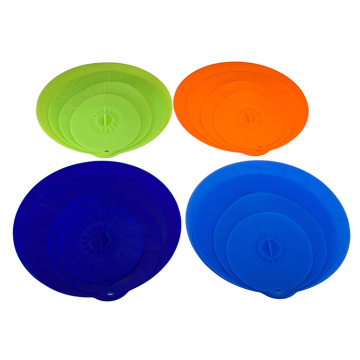 silicon microwave splatter lid cooking pot cover