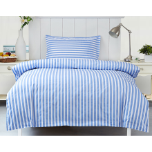 Stripe Printed Single Bed Sheet Set