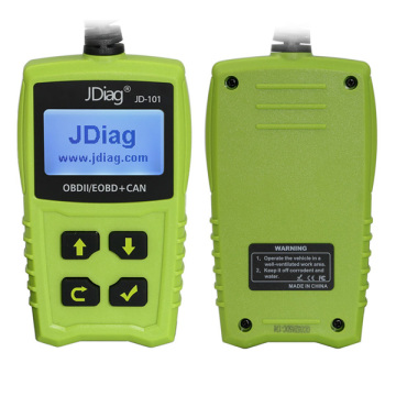 Leading for Fault Code Reader 2017 JDiag JD101 OBDII EOBD CAN Code Scanner export to Madagascar Manufacturers