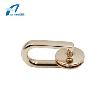 Handbag Handle Decorative Hardware for Leather Tote Bag