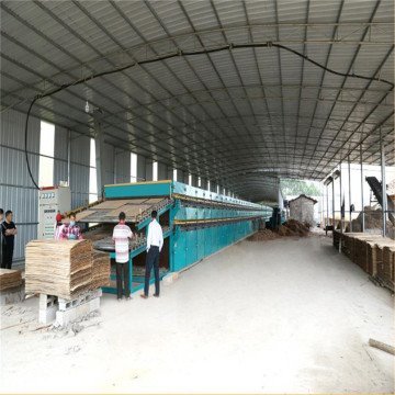 High Capacity Of Veneer Dryer