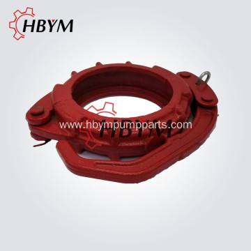 Popular Design for Extended Bolt Clamp Concrete Pump Spare Parts Casting Snap Clamp Coupling supply to Djibouti Manufacturer
