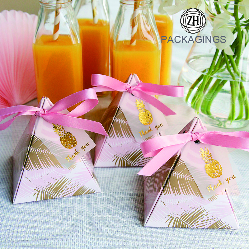 Decorative Wedding Favors Box Candy Packaging Gift Boxes