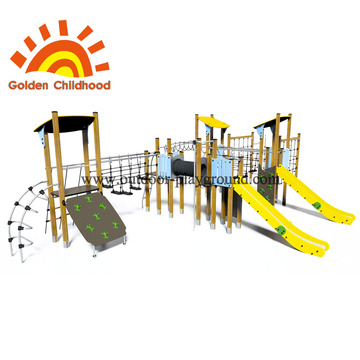 Double Slide Combination Slide Panel Structure For Sale
