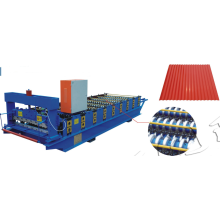 Purchasing for Wall and Roof Roll Forming Machine 850 automatic panel machine botou roofing tiles making machine export to Turks and Caicos Islands Suppliers