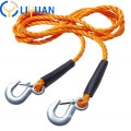 Heavy duty vehicle towing synthetic winch rope