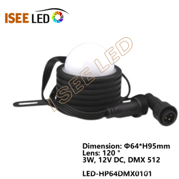 DMX digital rgb led pixels dot light