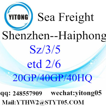 Shenzhen Sea Freight to Haiphong