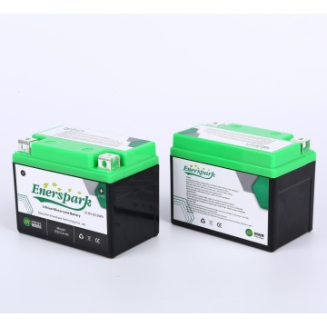 12.8V1600mAh Rechargeable Lithium Motorbike Starting Battery