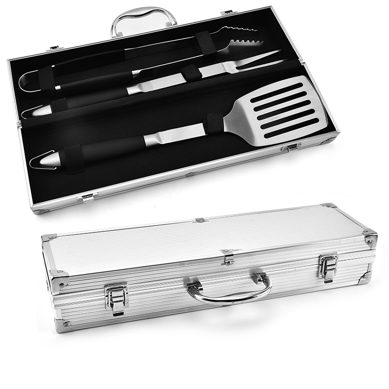 3PCS BBQ Set With Aluminum Case
