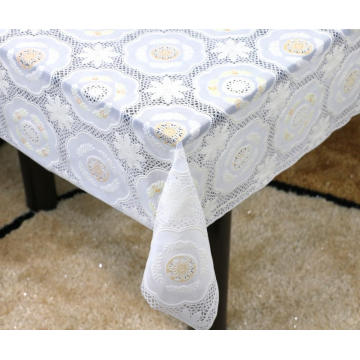 Printed pvc lace tablecloth by roll philippines