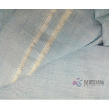 Blue Cotton Slub Fashion Fabric
