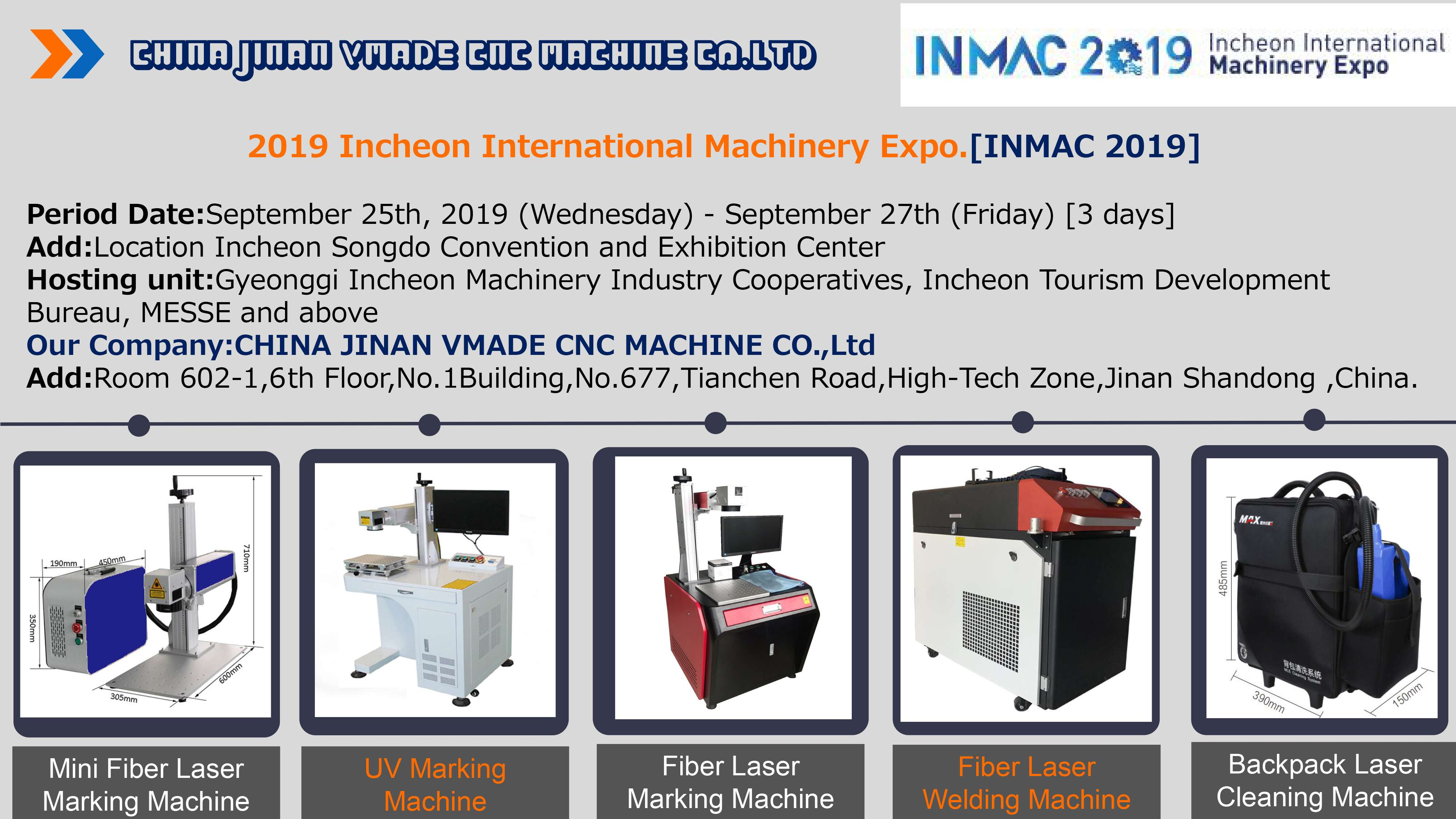 LASER MACHINE EXPO - LASER MARKING LASER WELDING LASER CLEANING