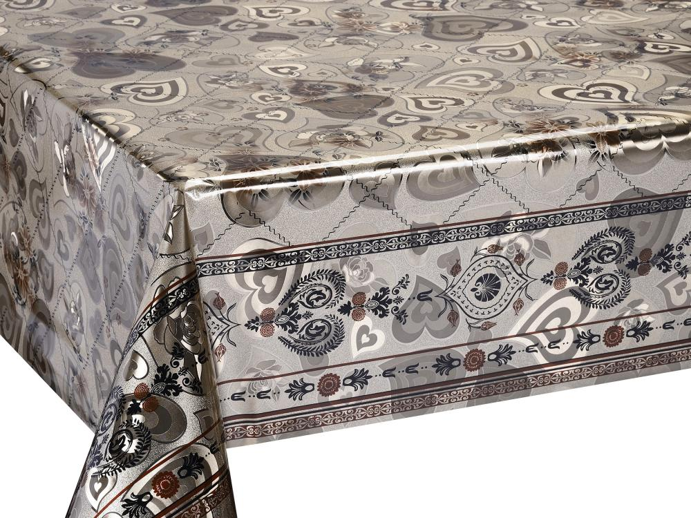 Double Face Silver Gold Coating Tablecloth
