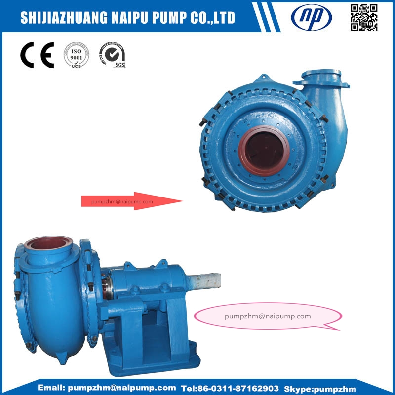 011 G gravel slurry pump