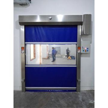 Factory Industrial Fast Rolling Up Door