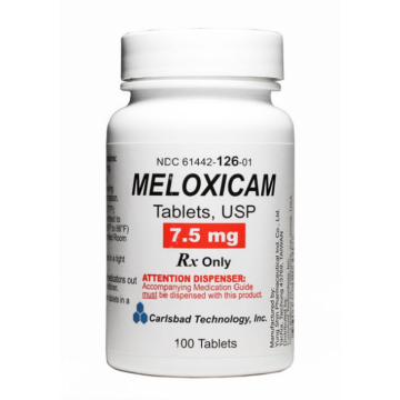 can meloxicam raise blood pressure