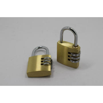 Good Quality for for Combination Door Locks Solid Brass Combination Padlock Sales supply to Zambia Suppliers