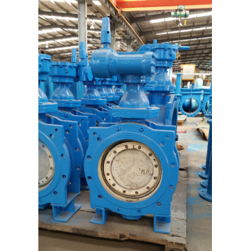 DI  Flange type knife gate valve
