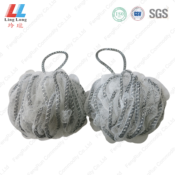 Swanky lace mesh bath ball
