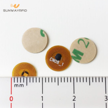 Personlized Products for RFID Sticker 8mm round 13.56mhz NTAG213 micro nfc tag supply to Mauritius Factories