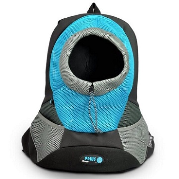 Seabreeze Small PVC and Mesh Pet Backpack