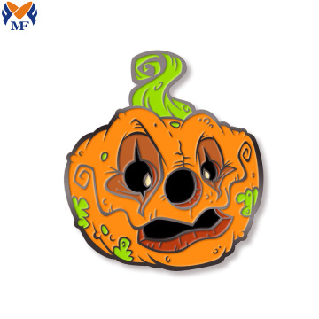 Metal enamel mask pin for carnival Halloween