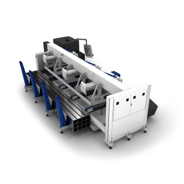 Big Power Metal Fiber Laser Cutting Machine 500w