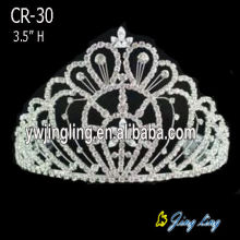 "3"" Small Princess Tiaras Wedding Bridal Crown"