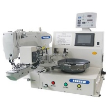 Automatic Feeding Button Attaching Machine