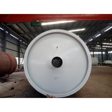 full-open door design tire pyrolysis machine