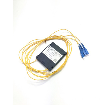 PLC 1*2 ABS BOX splitter sc upc connector