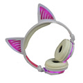 Cute Glowing Cat Ear  Wireless Headphones
