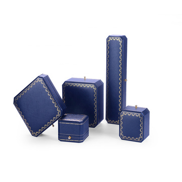 Blue Cardboard Jewellery Gift Boxes Cheap