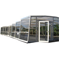 Aluminium Sunroom Patio Enclosure Swimming Pool Cover