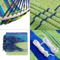 100cm Wide Outdoor Camping Hammock With Spreader Bars