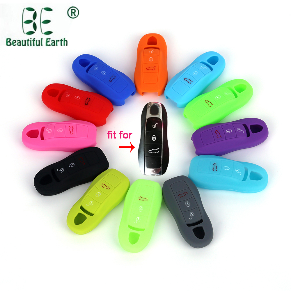 Porsche Silicone Car Key Cover