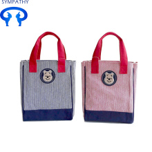Top for Cotton Tote Bag Custom female student canvas handbag supply to Japan Factory